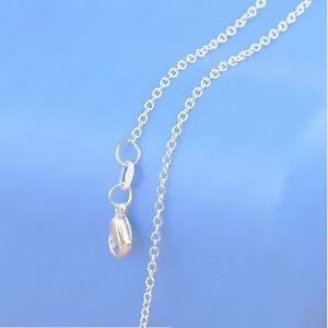 1PCS Wholesale Fashion jewelry 75% Silver ROLO Necklaces Chains