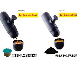 Genuine Minipresso GR,NS,CA Portable Travel Espresso by Wacaco