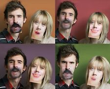 3D Funny Face Mats Drinking Beer Coasters, fun joke secret Santa gift PP3008fm