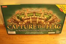 Lakeshore Capture the Flag Board Game Reading Comprehension Medieval Maze age 9+