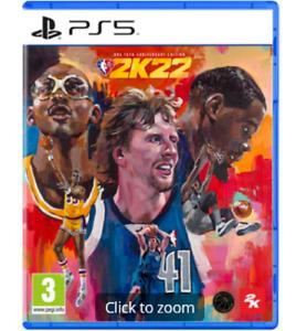 NBA 2K22 PS5 75 th Anniversary Ed. Brand New & Sealed Free UK P&P