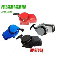 ALLOY PULL START STARTER POCKET BIKE MINI DIRT ATV QUAD 50CC 49CC 47CC 2 STROKE