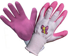 Kinder Arbeitshandschuhe Gartenhandschuhe Kinder Arbeits Garten Handschuhe pink