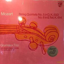 Mozart String Quintets No 5 in D,K.593 No. 6 in E flat, K.614 Grumiaux Trio