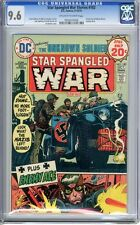 Star Spangled War Stories  #182  CGC  9.6  NM+  Off -white  to wht pgs   9-10/74