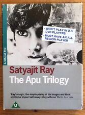 The Apu Trilogy (Artificial Eye Region 2 DVD) Satyajit Ray Slumdog Millionaire