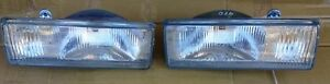 DATSUN NISSAN BLUEBIRD 910 MODEL 1980 82 BARE FRONT PAIR HEADLIGHTS LEFT RIGHT