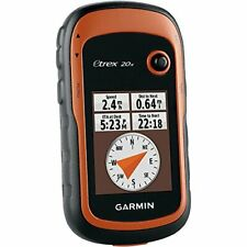 Garmin eTrex 20x Handheld GPS Navigator Sat Nav Hiking Walking Worldwide Maps