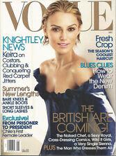KEIRA KNIGHTLEY Michelle Bachelet PLUM SYKES Gabriella Windsor 2006 Vogue Kiera