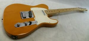 Squier Tele by Fender Butterscotch Blonde Affinity Electric Guitar Telecaster