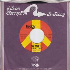 7 45 Black Ivory - We Made It RARE NM Funk/Soul Single 70s RARE