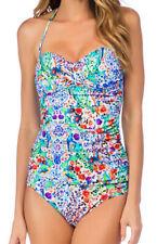 La Blanca Molded Padding Bra Bandeau Two Piece Tankini Swimsuit Swimwear 4 Nwd
