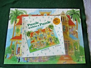 Cat House - Puzzle Within A Puzzle (500 pieces - complete)