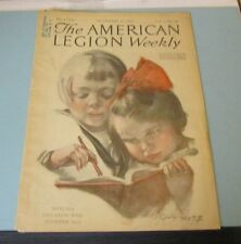 November 16 1923 American Legion Weekly Magazine South of the Rio Grande Mexico