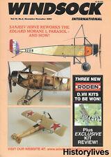 Windsock International V19 N6 Morane Sauliner L Parasol Albatros Curtiss Jenny