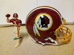 Joe Theismann Autographed Washington Redskins Mini Helmet & Starting Lineup