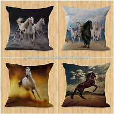 set of 4 ideas on interior decorating horse pillow cushion covers equine