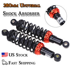 11in Motorcycle Shock Absorber Dampers 280mm Round End Fit For Pagsta Motors