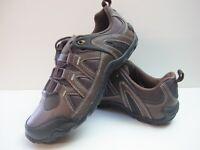 Mens Karrimor Summit Walking Hiking Brown Black Lace Up Shoes