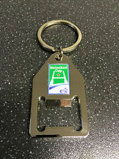 Heineken Cup Chrome Keyring And Bottle Opener - Key Ring