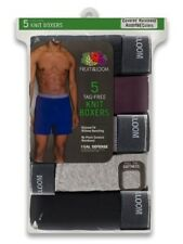 Fruit of the Loom Men 5PK Exposed Waistband Relaxed Fit Assorted Knit Boxer #10