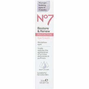 No7 Restore & Renew MULTI ACTION Eye Cream 15ml