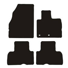 Renault Megane Grand Scenic (2009 to DATE)Tailored Black Rubber Car Mat Set of 4