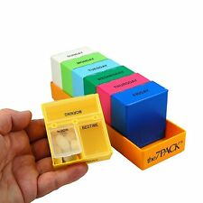Deep Weekly 3-Compartments-Per-Day Pill Organizer ITEM 432