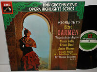 ESD 7047 Bizet Carmen Highlights De Los Angeles Gedda / Sir Thomas Beecham