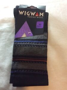 Wigwam F1426 Women's Santa Fe Fusion Socks 052 Black Size Medium Shoe Size 6-10