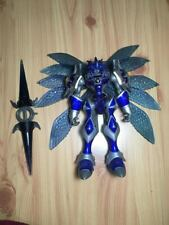 2001 Digimon WARP-DIGIVOLVING GALLANTMON Blue CHAOS Mode Bandai 100%