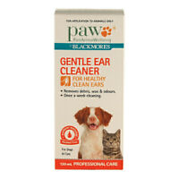 PAW Dog Puppy Cat Pet Gentle Ear Wax Cleaner Cleanser 120ml