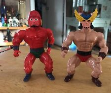 Vintage Lot 2 Sungold Galaxy fighters heman bootleg motu Knockoff Action Figure