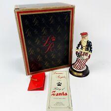 Duncan Royale History of Santa Claus 1989 Civil War Miniature Collection w Box
