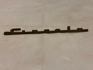 Lincoln Hood Fender Emblem Trim Script Ornament 1940-1950?