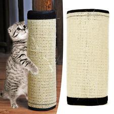 New listing Cute Pet Cat Kitten Scratching Pad Mat Board Natural Sisal Scratcher Post Toys