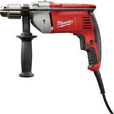 Milwaukee Corded Electric Hammer Drill - 1/2in. Chuck, 8.0 Amp, 48,000 BPM