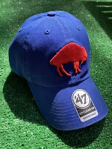 NWT Buffalo Bills Hat Standing Buffalo 47 Brand Blue New cap