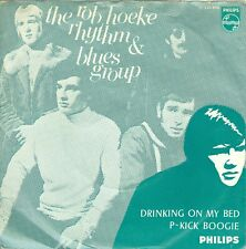 """ROB HOEKE R&B GROUP- DRINKIN ON MY BED ( DUTCH PHILIPS JF 333956) 7""""PS 1968"""