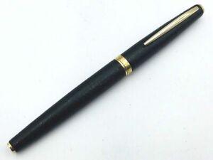 Y5439  SAILOR Fountain Pen Black Leather 18K Gold 750