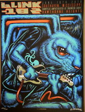 BLINK 182 - 2016 - BANKPLUS - SOUTHAVEN - HAWTHORNE - POSTER - MUNK ONE - S/N