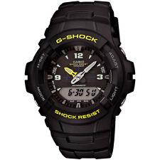 Casio G-Shock G100-9CM Black Yellow Accent Shock Resistant Analog-Digital Watch