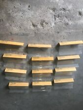 12 Plastic Slatwall Shelves Shelf Shoe 4� X 8� With Wood Accent