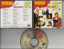 NOW THIS IS MUSIC 6 1987 EVA CD Freddie Mercury Housemartins Starship In Tua Nua