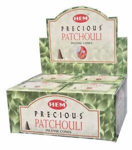 Hem Incense Cones - Precious Patchouli 12 Packs = 120 Cones Free Shipping