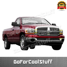 FOR DODGE 2006 2007 2008 RAM 1500 2500 3500 BOLT ON OVERLAY BILLET GRILLE COMBO