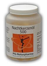 150 Kapseln a 500mg Nachtkerzenöl  - PG-Naturpharma