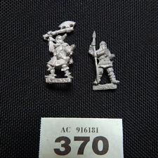 Citadel -  2x warriors - Viking / Norse - Metal 80's 370