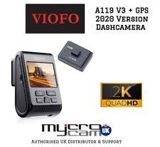Viofo A119 V3 QuadHD 2560*1600P@30FPS + GPS New 2019 Model Buffered Parking Mode