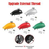 Upgrade 2L Fuel Gas Tank Fit 2/4 Stroke 80cc/60/66/49cc Engine Motorized Bicycle